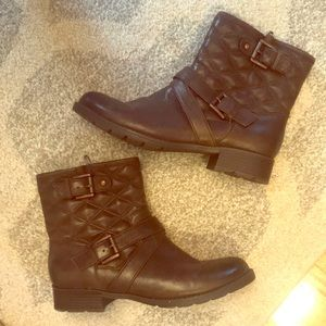 Comfortiva Chocolate Brown Boots